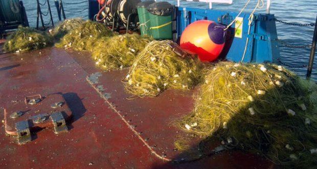 К инциденту с украинскими рыбаками: «Какие ваши доказательства?» - почти 5 кг браконьерских сетей