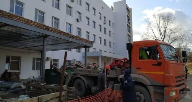 Севастопольский роддом №2 на ремонте. Медики подчёркивают: акушерская служба работает