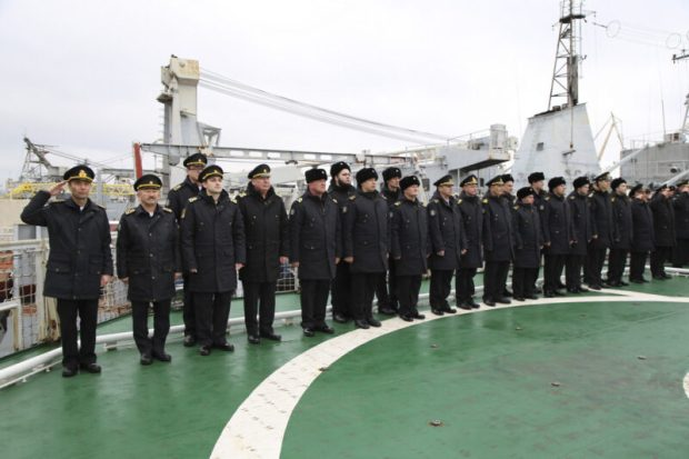 В состав Черноморского флота принят новый морской буксир «Сергей Балк»