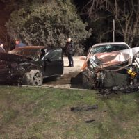ДТП в Керчи: в лобовом столкновении иномарок пострадали два человека