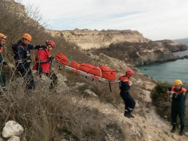 Трагедия на мысе Фиолент: двое сорвались с 16-метровой скалы