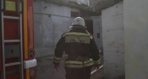 В Инкермане на пожаре погиб человек