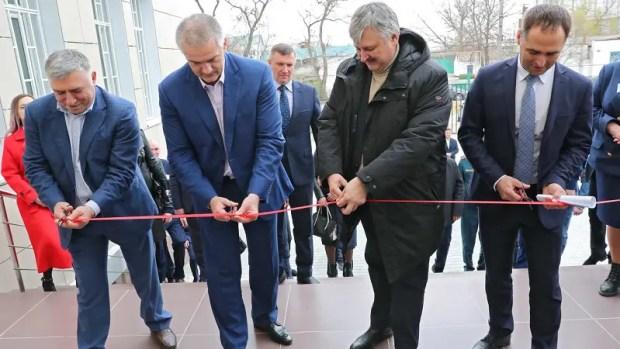 В Джанкое после ремонта открыли Дом правосудия