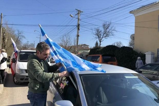 Межнациональный автопробег состоялся в Симферополе