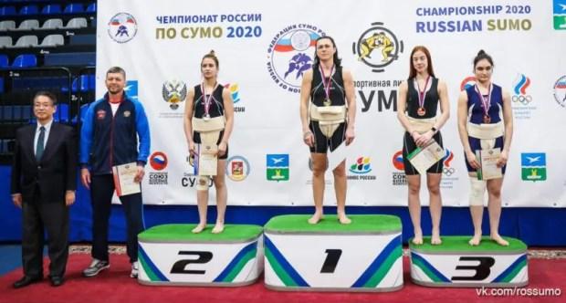 Севастопольские борцы сумо - на пьедесталах первенства и чемпионата России
