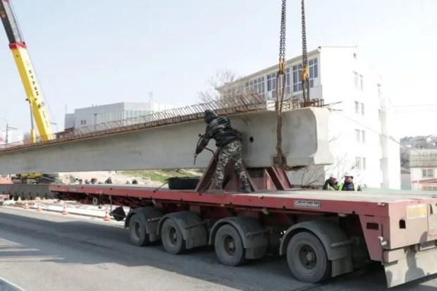 В Севастополе движение по мосту на проспекте Гагарина обещают запустить через два месяца