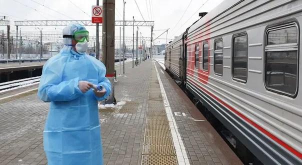 РЖД прекращает международное сообщение с Украиной и Молдовой из-за коронавируса