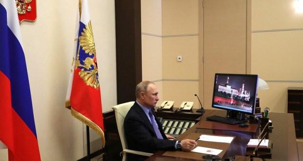 Сегодня Президент Владимир Путин выступит с новым обращением к гражданам России