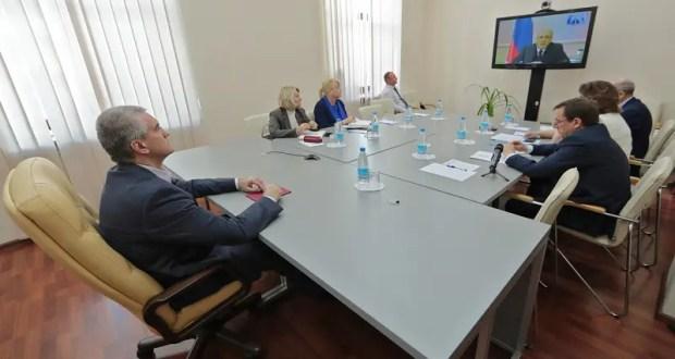 Премьер-министр РФ Михаил Мишустин провел онлайн-совещание с руководителями регионов
