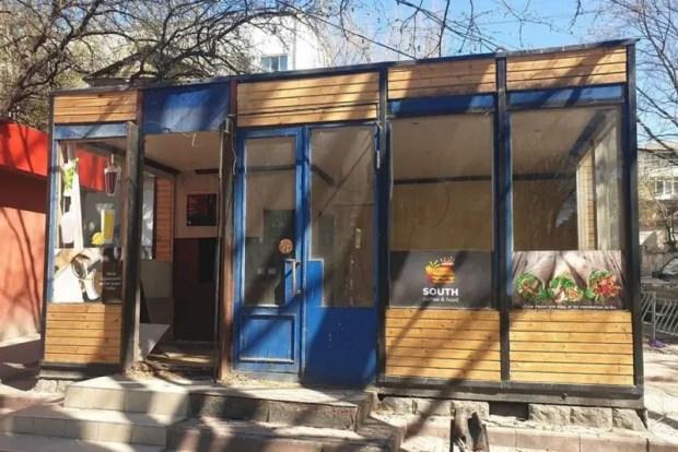 В Симферополе сносят незаконно установленные торговые объекты
