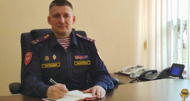 Новый начальник Управления координации деятельности подразделений Росгвардии в Севастополе - Александр Бахарев