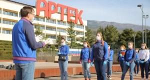 """Волонтёры """"Артека"""" участвуют во Всероссийской акции """"Мы вместе"""""""
