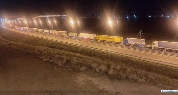 Как работает пост контроля на Крымском мосту