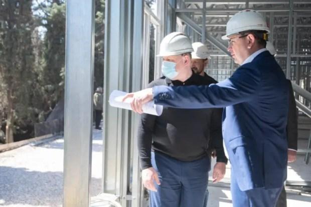 В Севастополе ускоренными темпами строят модульный корпус инфекционной больницы