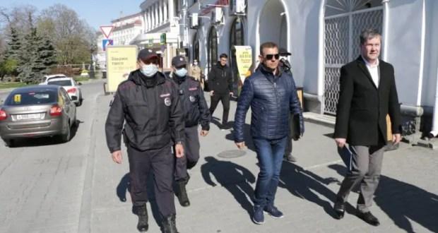 В Севастополе начали выписывать протоколы за нарушение режима самоизоляции
