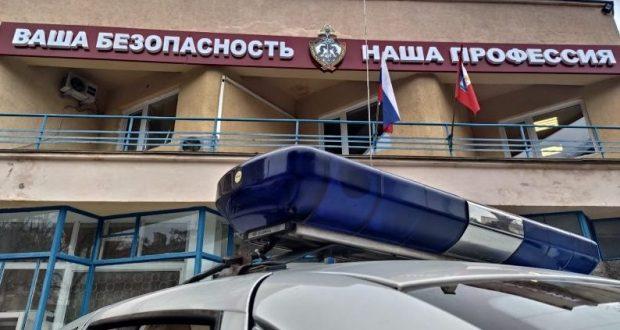 В Севастополе сотрудники Росгвардии задержали пьяного мстителя