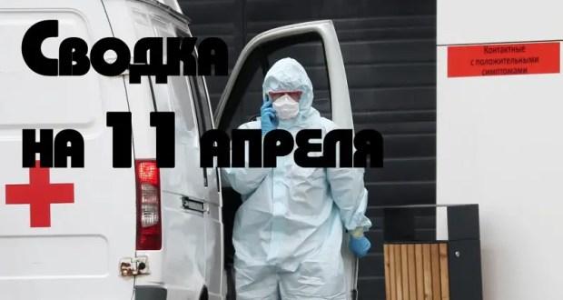 В Крыму под наблюдением медиков – свыше трех тысяч человек, в России – 159 тысяч. Сводка на 11 апреля