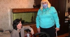 Очередной рейд севастопольского «Добровольца» - на этот раз к людям, требующим особой заботы