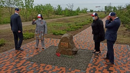 На территории Крепости Керчь заложили «Аллею Славы»