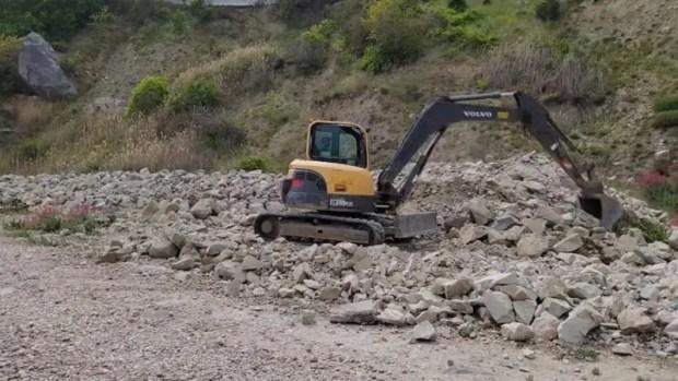 В Форосе начаты работы по реконструкции набережной
