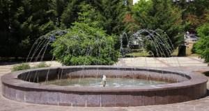 В скверах Симферополя заработали фонтаны