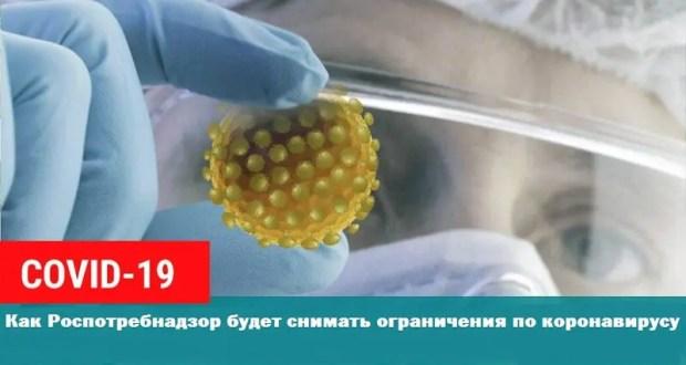 Роспотребнадзор обнародовал «методический инструмент» снятия ограничений по коронавирусу