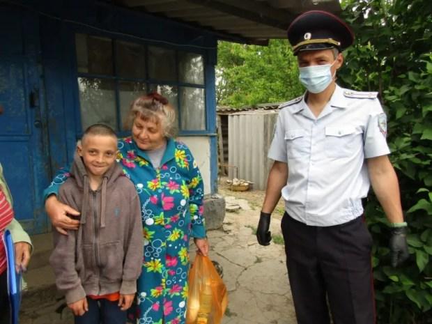 Акция #МыВместеМВД в Белогорском районе Крыма