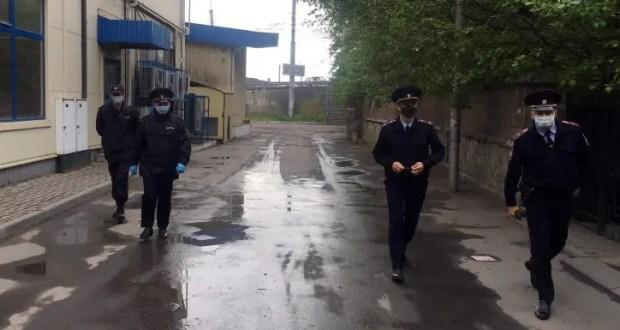 В Алуште полиция контролирует соблюдение режима самоизоляции