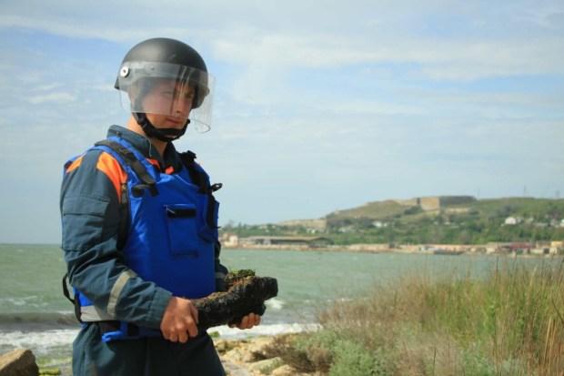 В море и на земле. В Крыму провели три операции по обезвреживанию взрывоопасных предметов