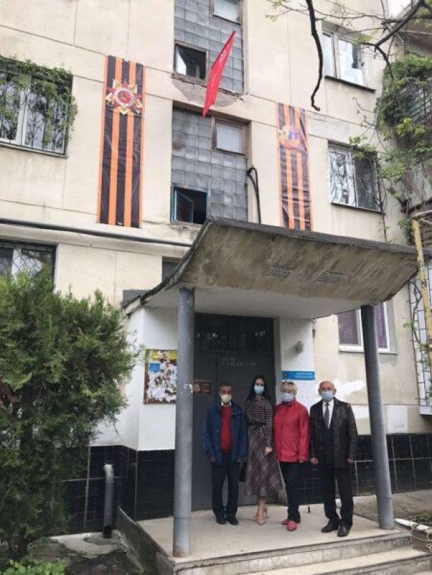 В столице Крыма чествуют ветеранов
