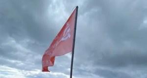 На вершине горы Ай-Петри взвилось Знамя Победы