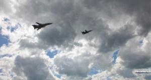Воздушный парад в небе над Керчью