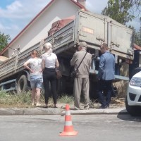 ДТП в Симферополе: у МАЗа отказали тормоза