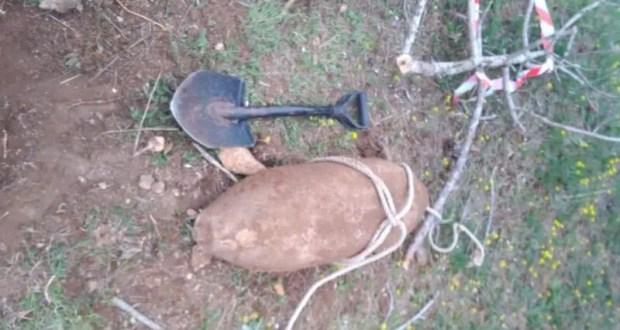 В Севастополе сотрудники МЧС обнаружили авиационную бомбу весом в 100 кг