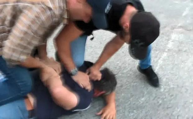 В Ялте задержаны кавказцы - представители «этнической преступной группировки»
