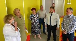 Спикер крымского парламента Владимир Константинов посетил с рабочим визитом Алушту