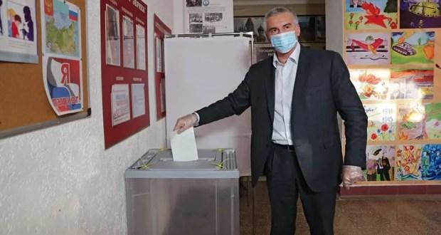 Сергей Аксёнов проголосовал за изменения в Конституцию РФ