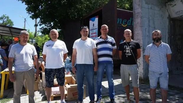 Программа «Добровольца» по обеспечению продуктами жителей отдаленных сел Севастополя - в действии