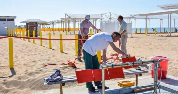 В Евпатории в курортный сезон будет работать 91 пляж