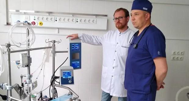 Для Симферопольской городской клинической больницы №7 приобретен аппарат ЭКМО