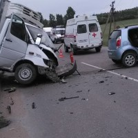 ДТП на мосту в Бахчисарайском районе: трое пострадавших, в том числе ребёнок