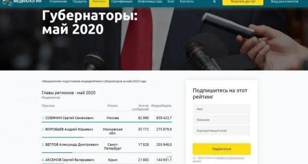 Глава Крыма Сергей Аксёнов - в пятерке самых цитируемых глав регионов РФ