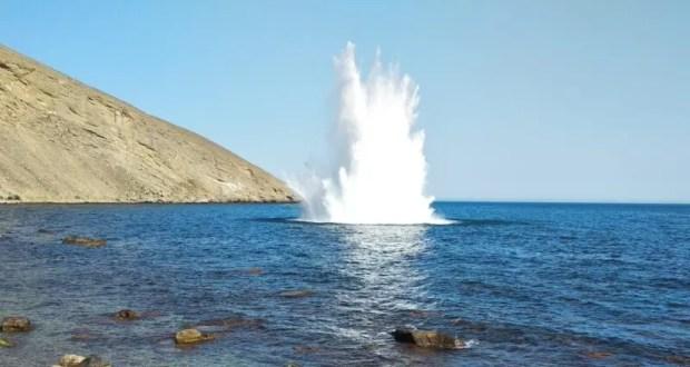 В Крыму - в акватории Чёрного моря - обезвредили авиабомбы времен ВОВ
