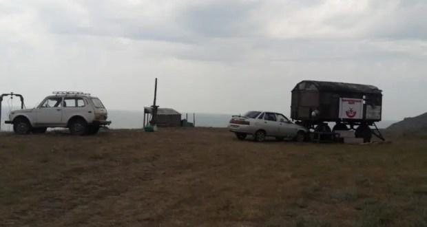 """На территории ландшафтно-рекреационного парка """"Мыс Такиль"""" экологи обнаружили рыболовецкий причал"""