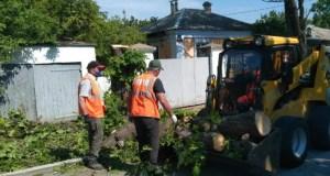 В Симферополе идёт генеральная уборка