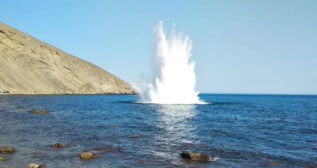 В акватории Чёрного моря обезврежены боеприпасы времён Великой Отечественной войны