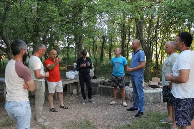 Ряды севастопольского «Добровольца» пополнили руководители ТОСов Орлиновского муниципального округа