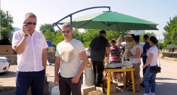 Продукты по социальным ценам – жителям сел Байдарской и Варнаутской долин