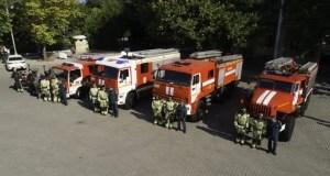 Пожарная охрана Севастополя отмечает 145 лет со дня создания