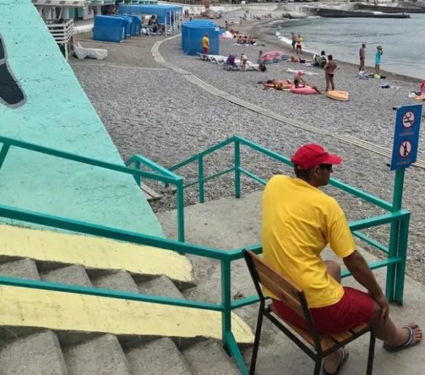 Очередная проверка крымских пляжей. На этот раз в Ялте, Оленевке и на косе Беляус